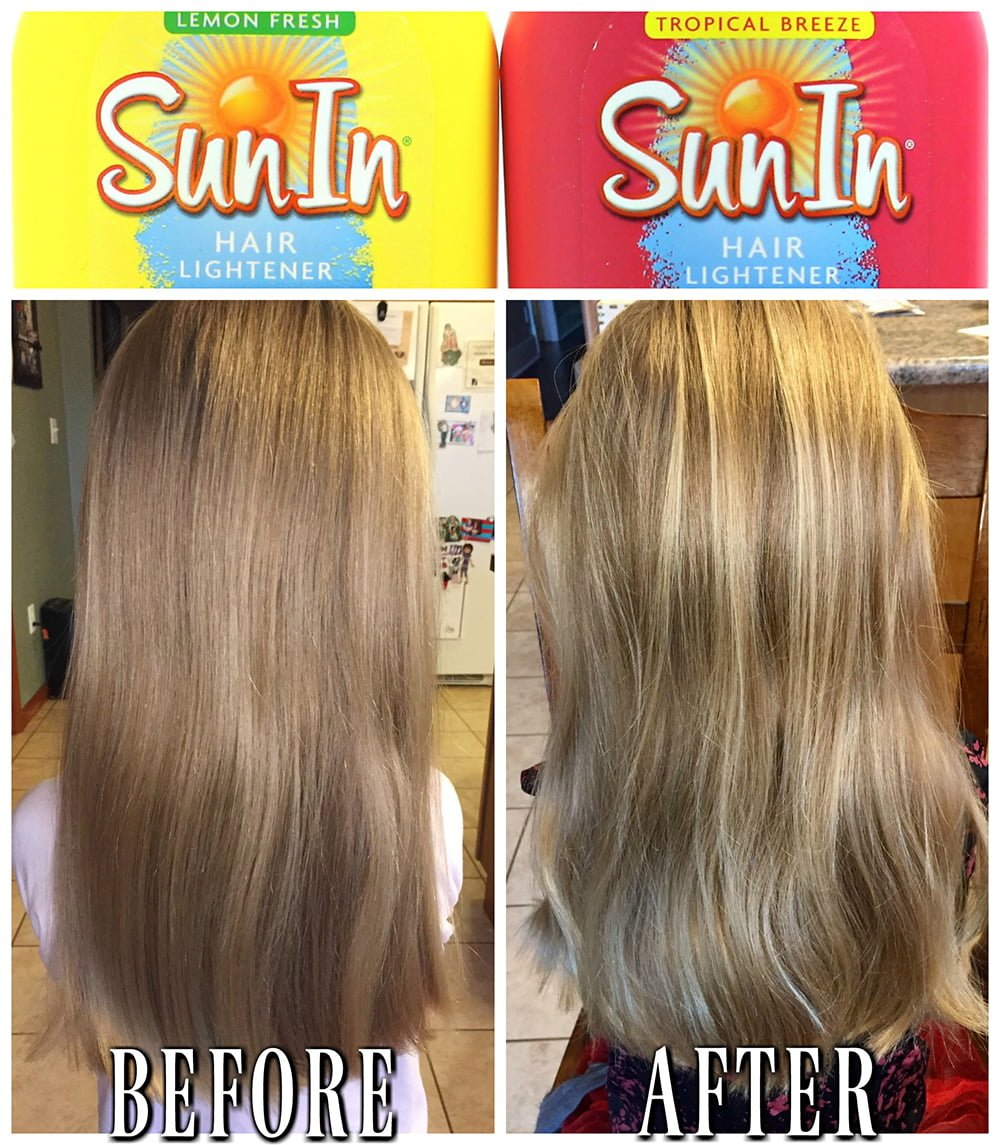 sun bum hair lightener review