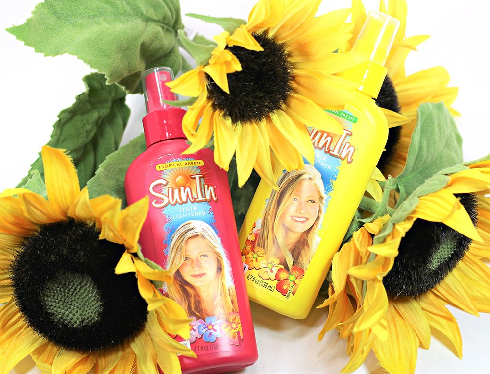 Sun In Review Hair Lightener Walmart At Home Hairstyle Highlights