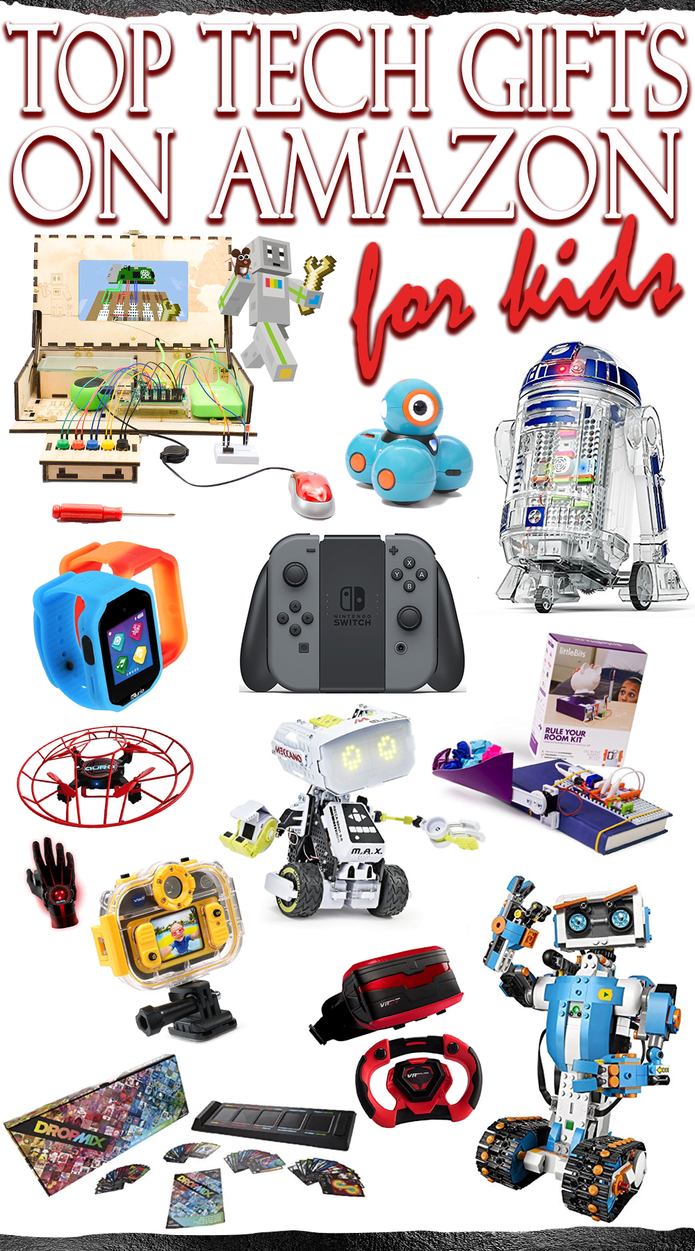 top tech gifts for kids on amazon present ideas for boys girls for christmas holiday season birthday gifts christmas kids amazon - Amazon Christmas Gifts