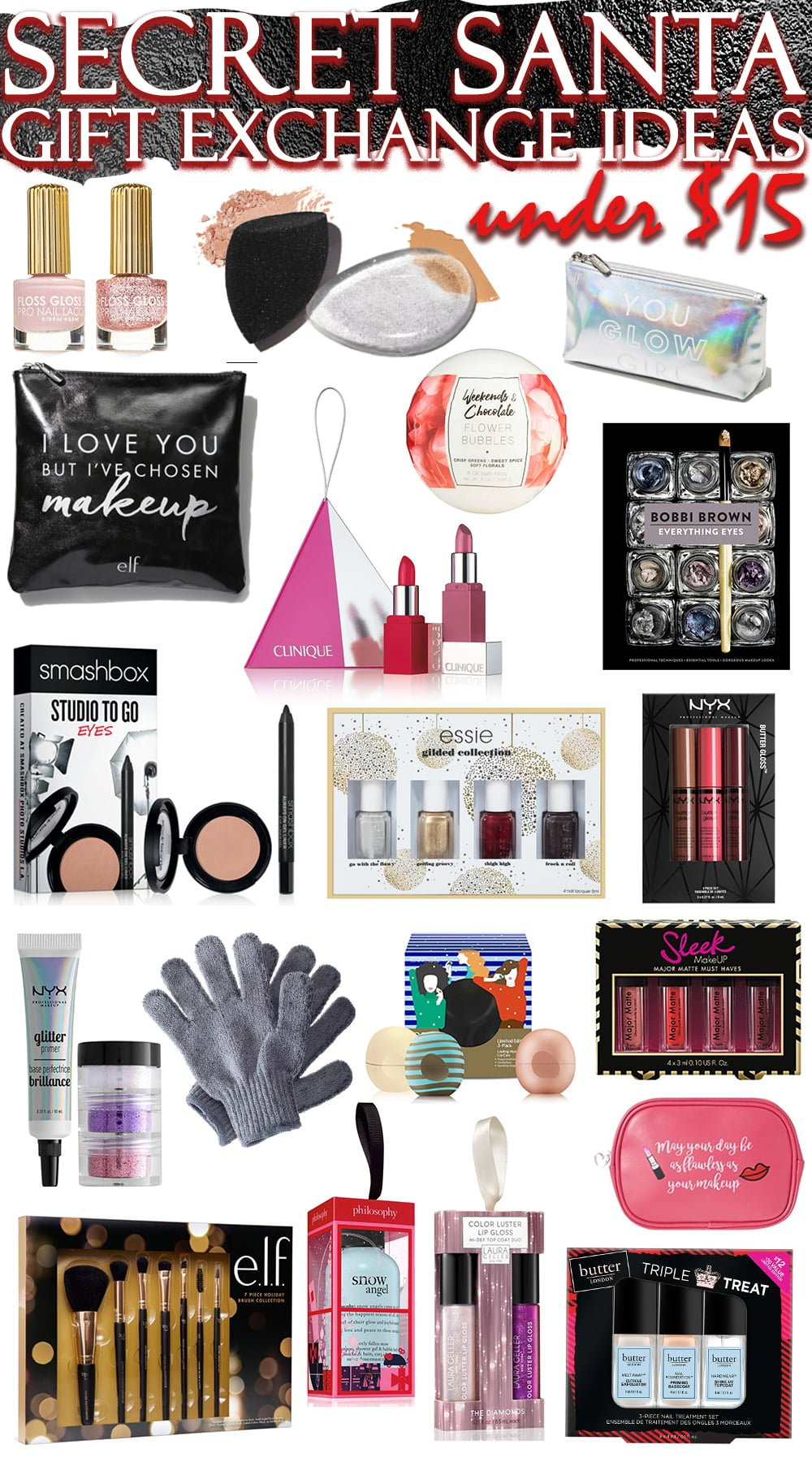 The best secret santa gift exchange ideas in beauty all Good gifts for gift exchange