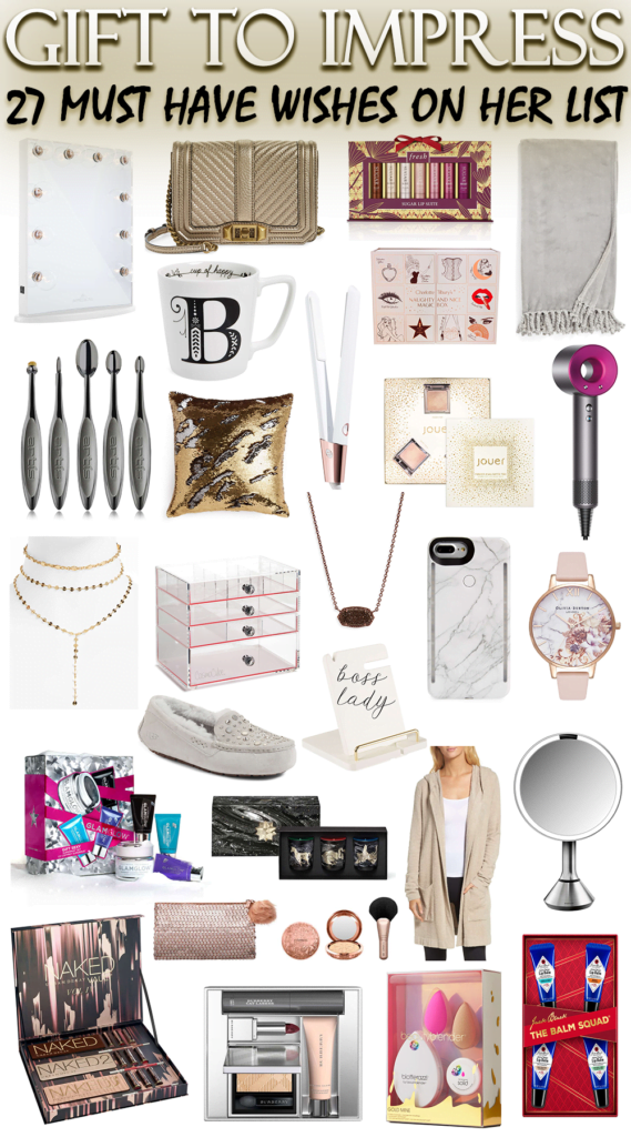 Gift to Impress // 27 Must-Have Gifts on Her Wishlist