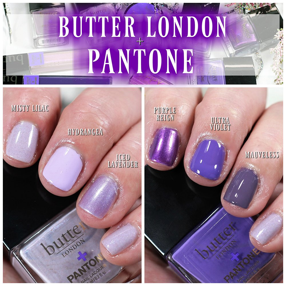 Butter London + PANTONE Color of the Year ULTRA VIOLET Makeup & Nail ...