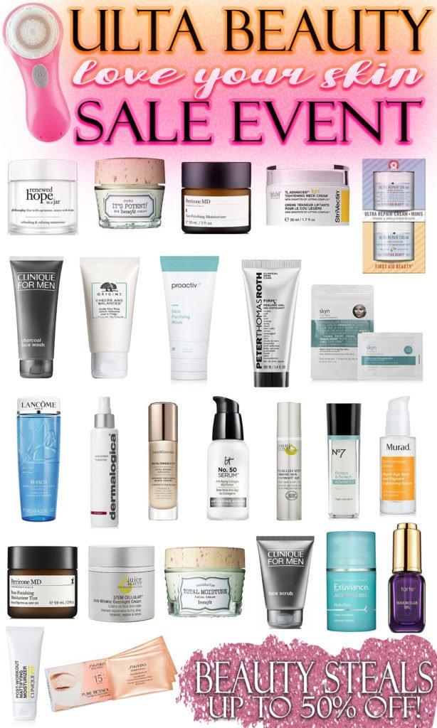 ULTA Beauty Love Your Skin Sale Event