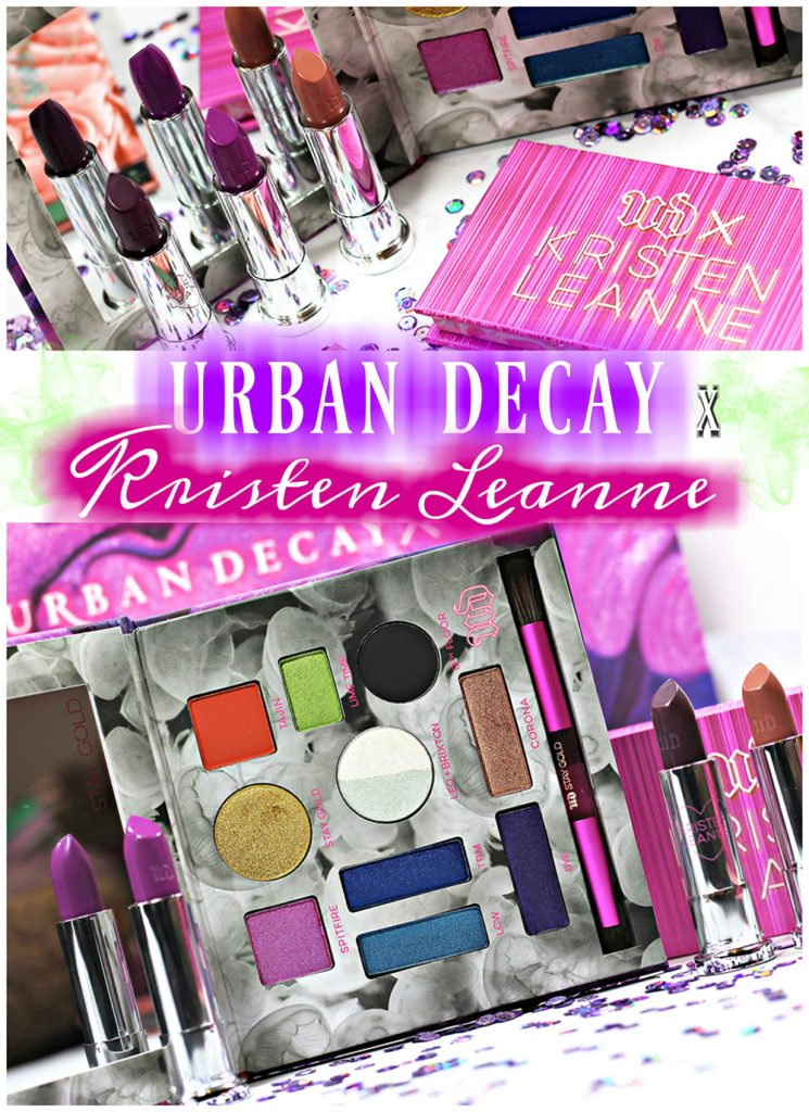 Urban Decay x Kristen Leanne Makeup Collection Swatches, Review + Looks