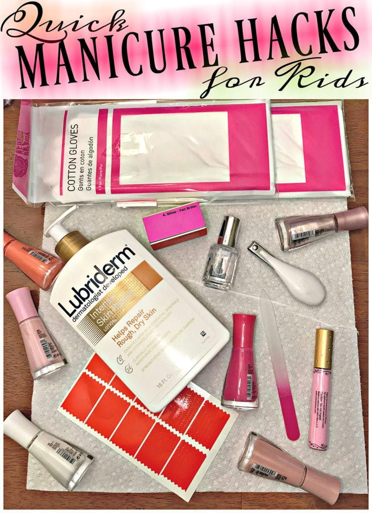 Quick & Easy Manicure Hacks for Kids