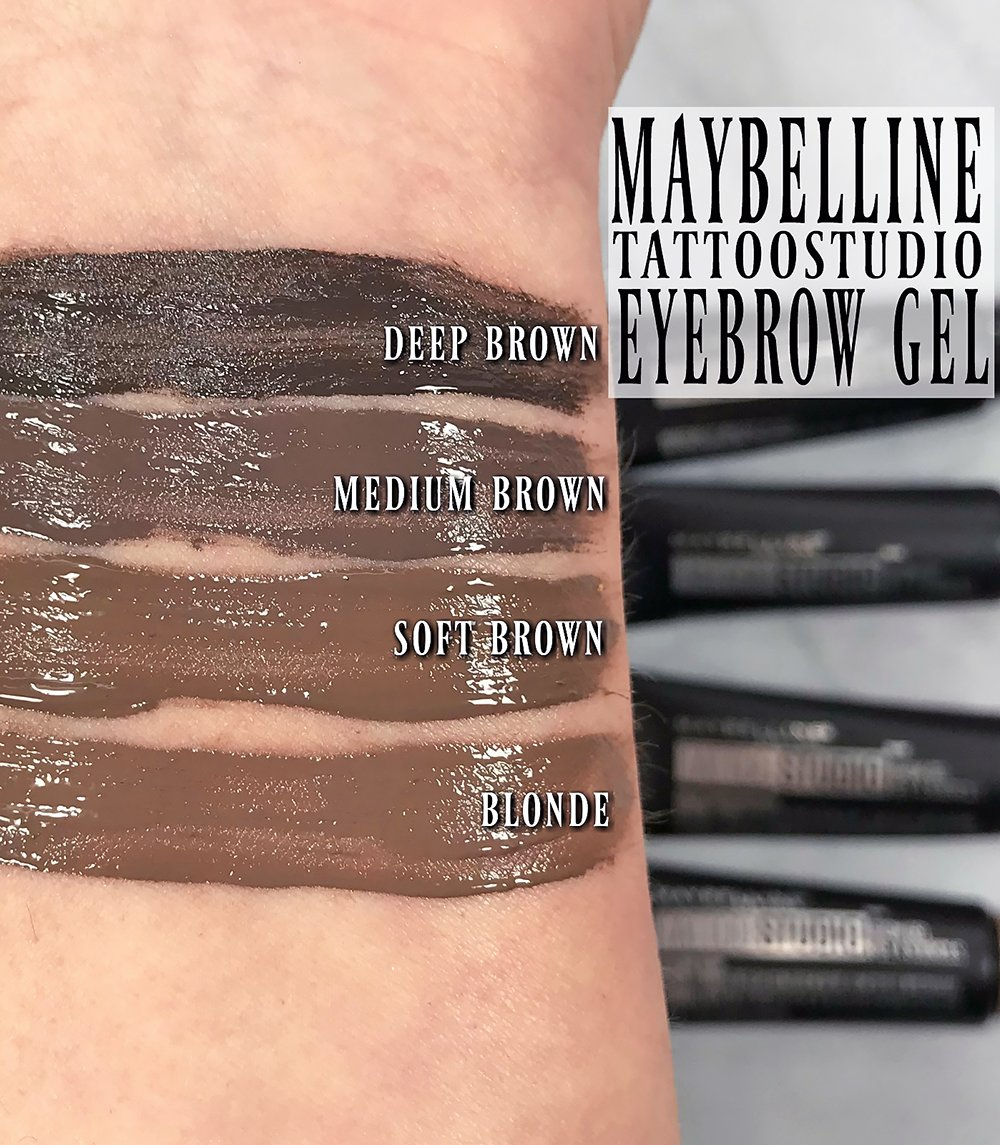 How to wear maybelline tattoostudio waterproof eyebrow gel for Maybeline tattoo brow