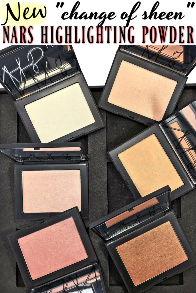 NARS Highlighting Powders Swatches + Review | Seamless GLOW Technology!