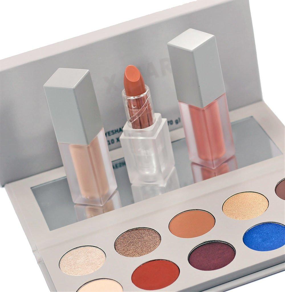 Kim Kardashian x Mario Dedivanovic Makeup Bundle Collection Swatches, Review, Looks   #KKWxMARIO