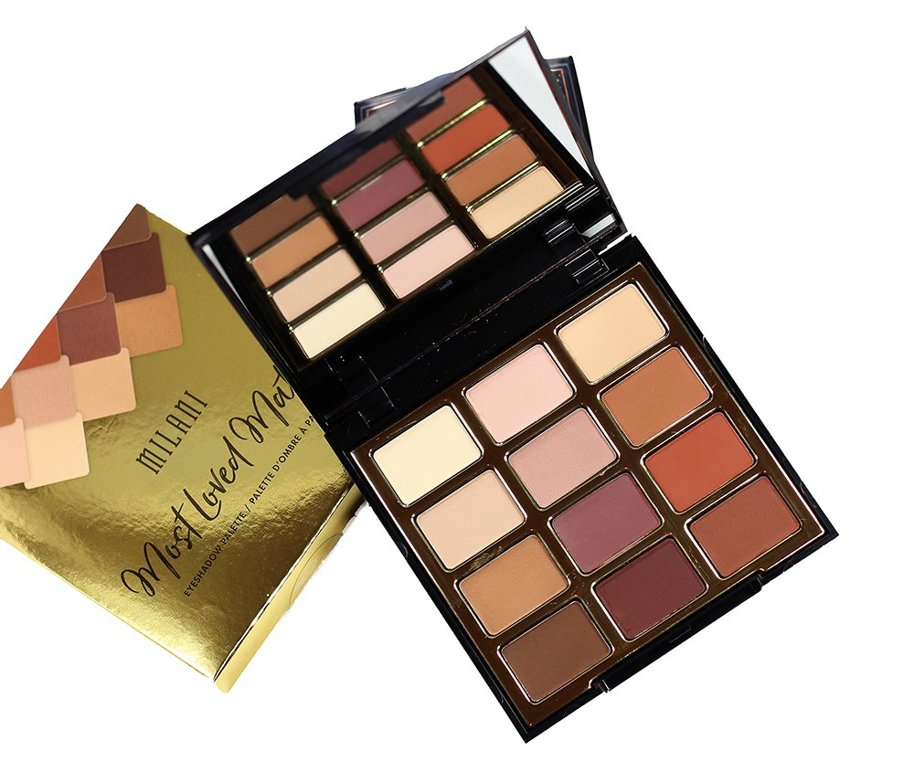 Milani Most Loved Mattes Eyeshadow Palette Swatches, Review + EOTD