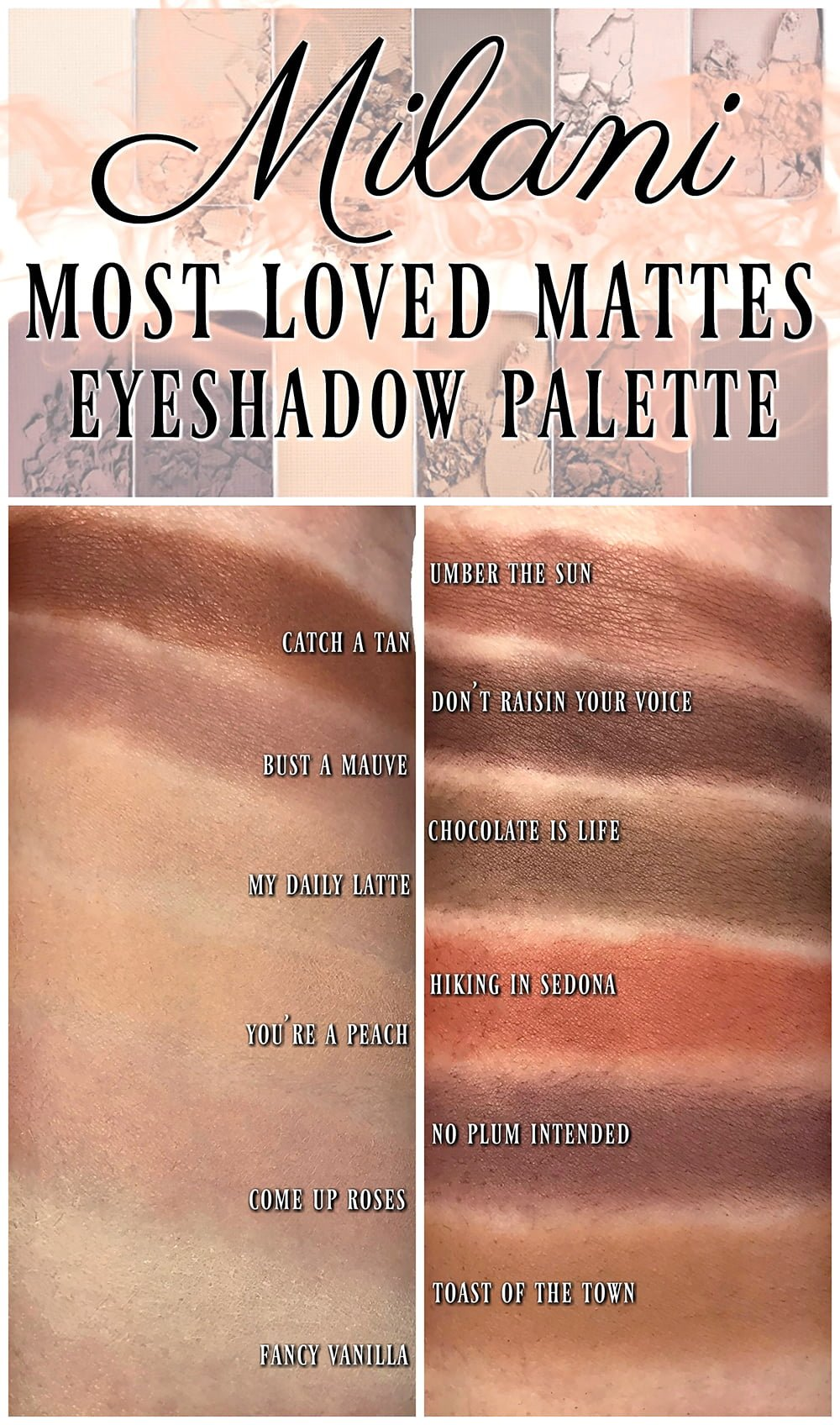 Most Loved Mattes Eyeshadow Palette by Milani #7