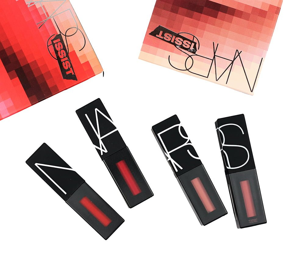 NARS #NARSISSIST Cool Nudes & Hot Reds Wanted Power Pack Lip Kit Swatches + Review