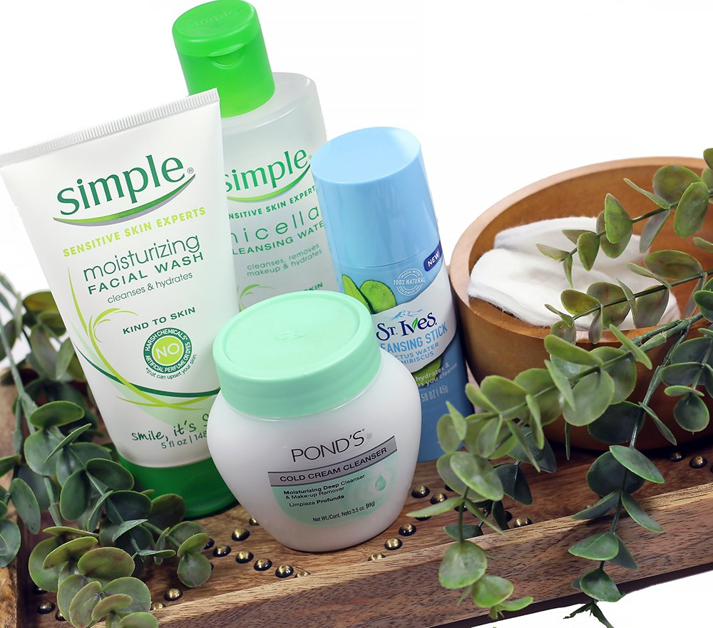 Affordable Deep Cleansing Skincare Routine from the Drugstore