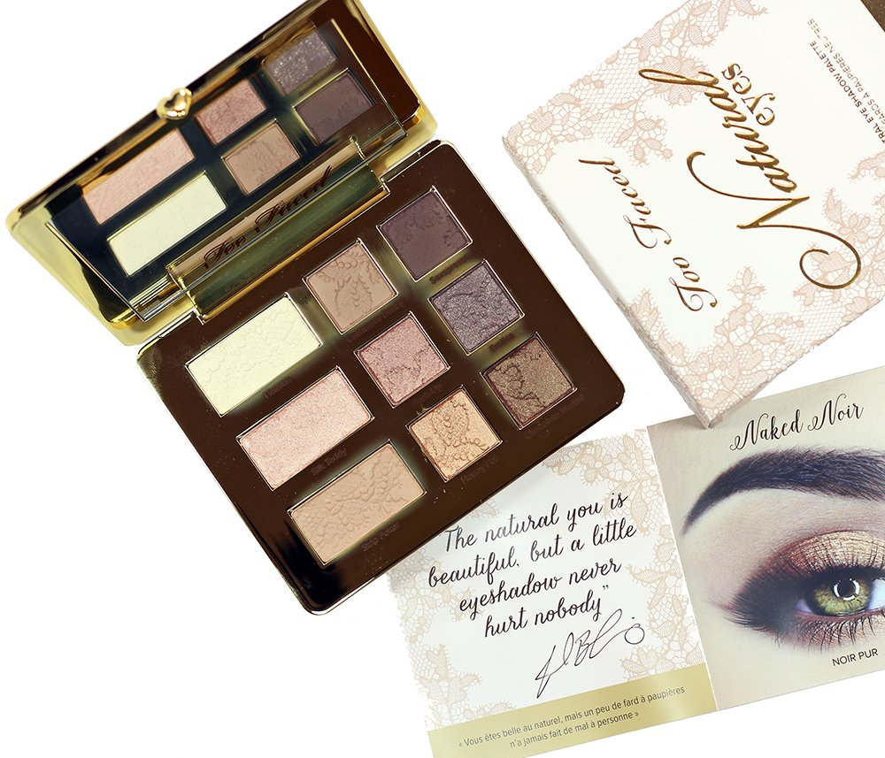 SWATCHED | Too Faced Natural Eyes Eyeshadow Palette