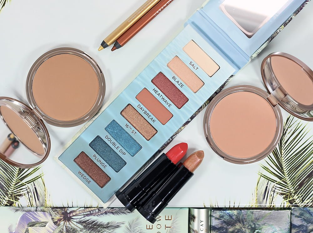 Urban Decay Beached Collection Swatches, Review, Looks | Summer 2018