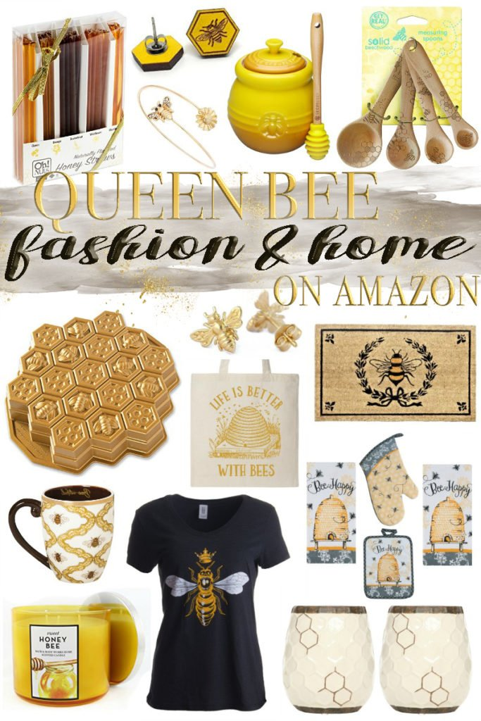 Queen Bee Fashion & Home Decor on Amazon
