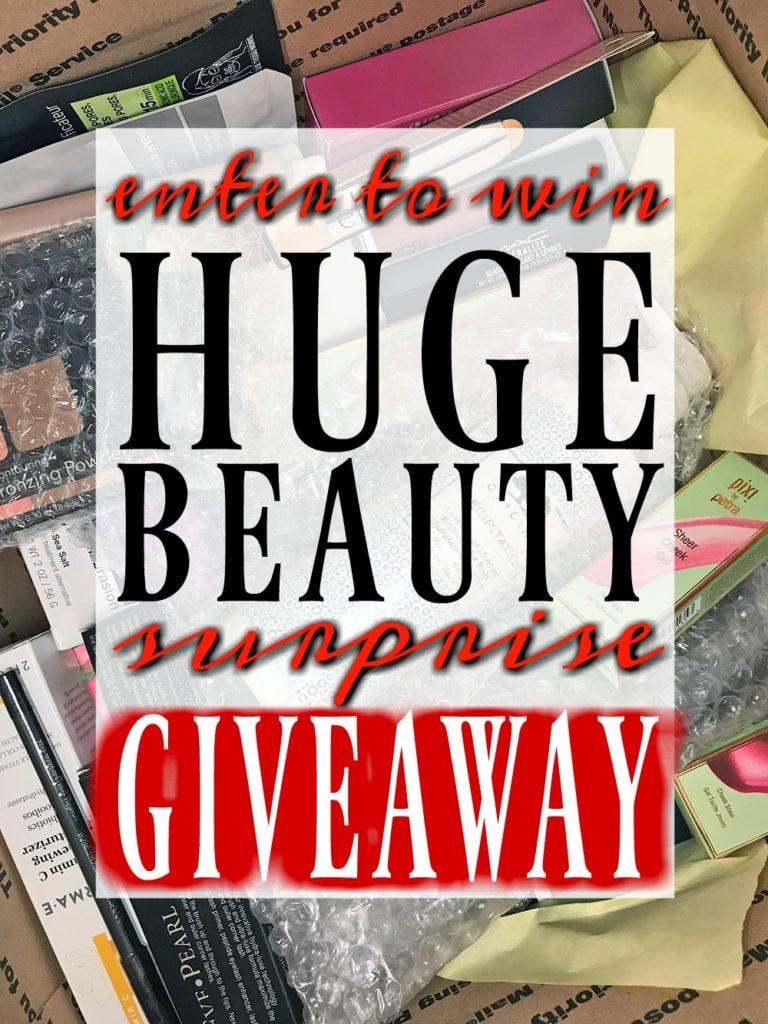 Who Wants to WIN a Surprise BOX OF BEAUTY?!
