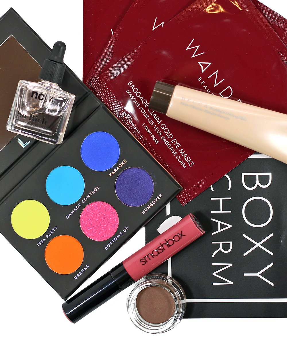 boxycharm august 2018 unboxing beauty subscription box