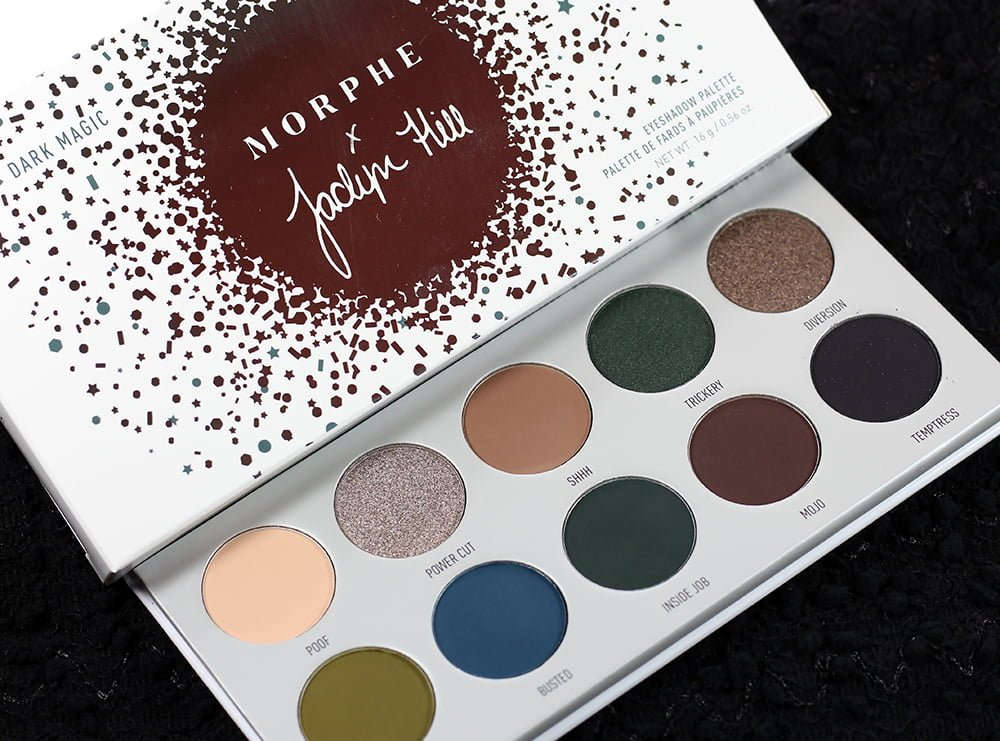 Morphe x Jaclyn Hill Dark Magic Eyeshadow Palette Swatches, Review + EOTD | The Vault Collection
