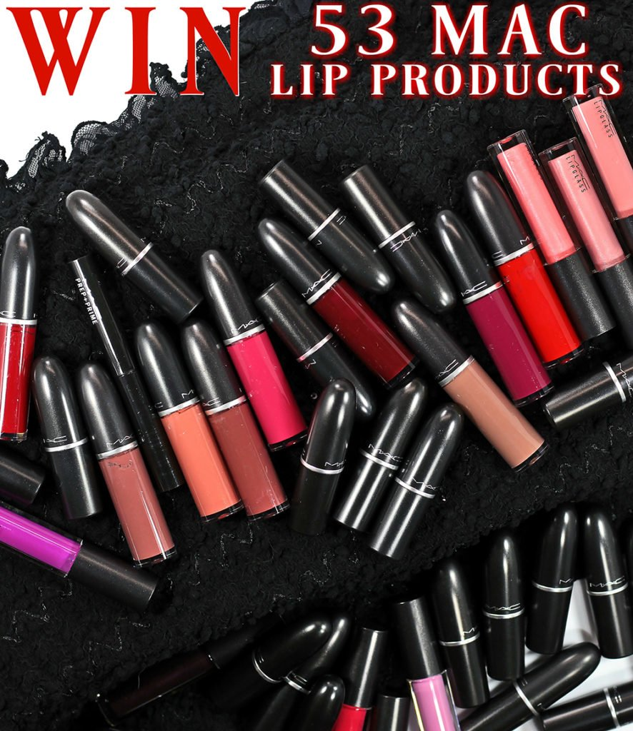 WIN 53 MAC Lip Products!