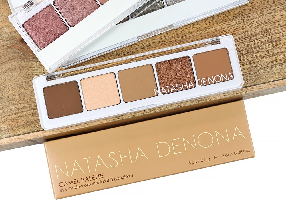 3 Ways to Wear the Natasha Denona Camel Eyeshadow Palette + Swatches & Review