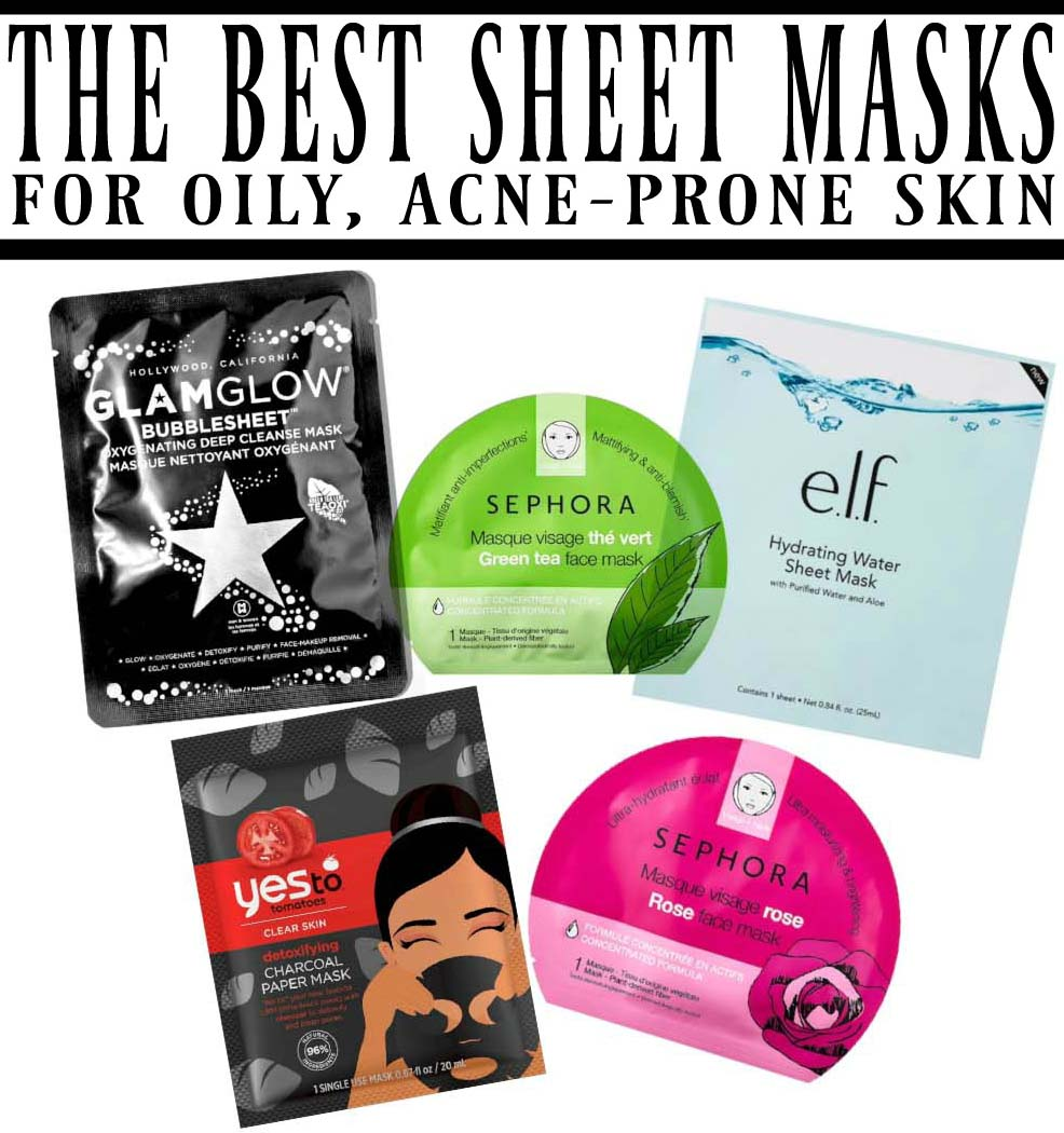 Best Face Masks For Acne Prone Skin: The Best Sheet Masks For Oily, Acne-Prone Skin