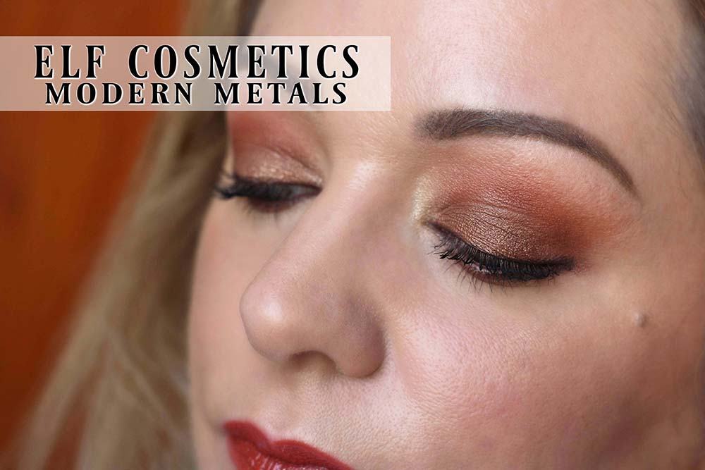 ELF Modern Metals Collection Review, Swatches & Video Tutorial