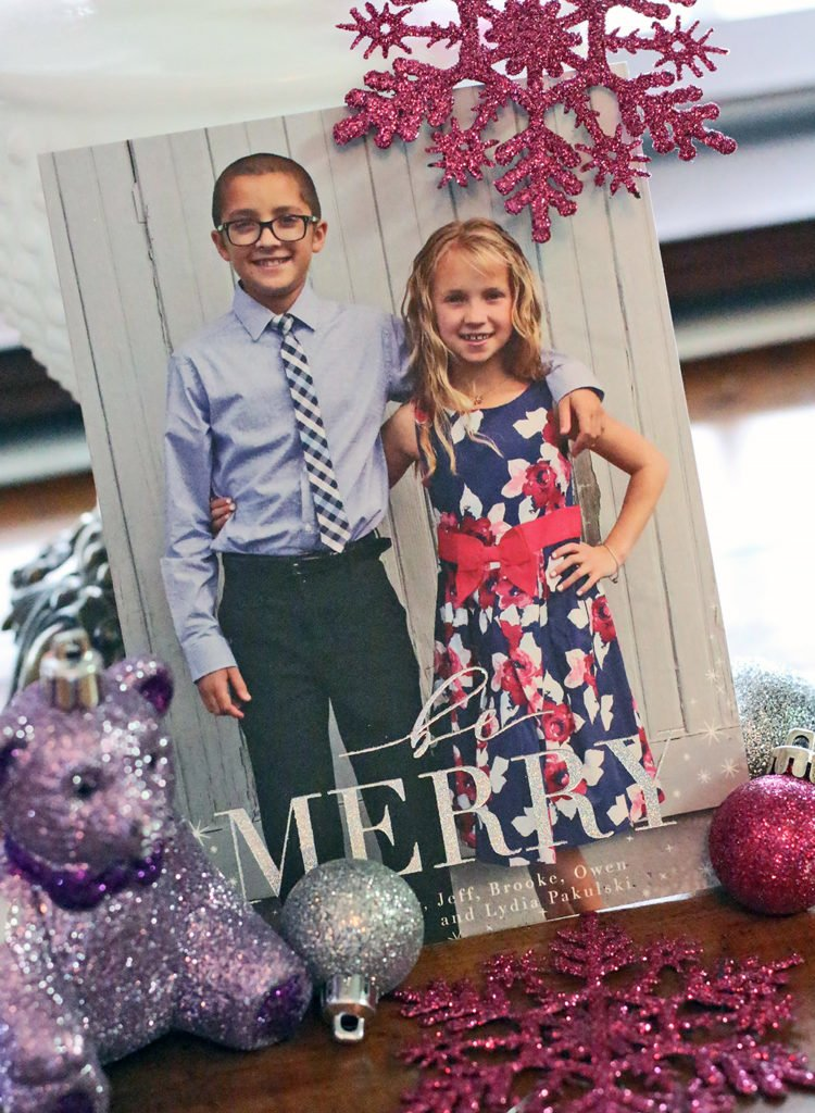 Making Christmas Memories with Minted Holiday Cards