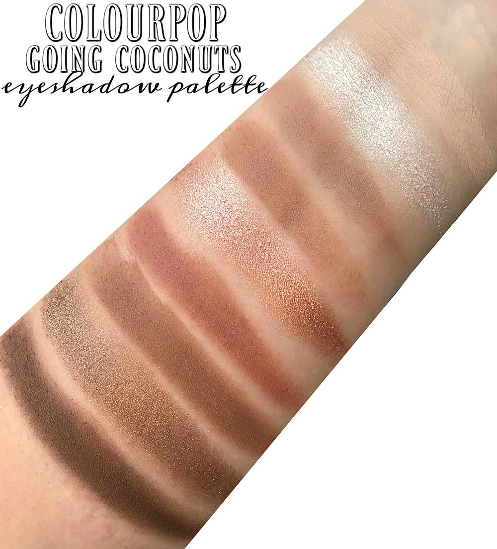 Going Coconuts Palette by Colourpop #9